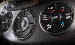 Car Heat and AC controls